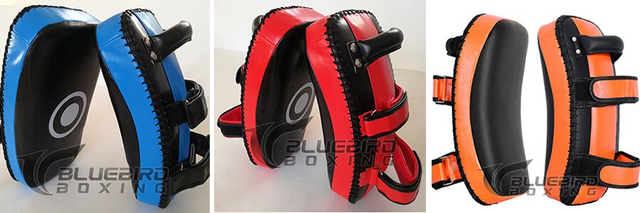 Arched Muay Thai Pad punching